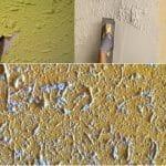 ¿Como eliminar el gotele acabado en pintura temple o plastica?